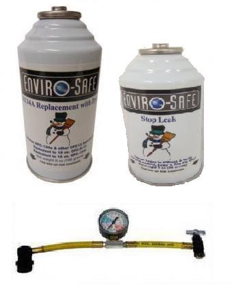 KIT ALL IN ONE Enviro-Safe R134a R12