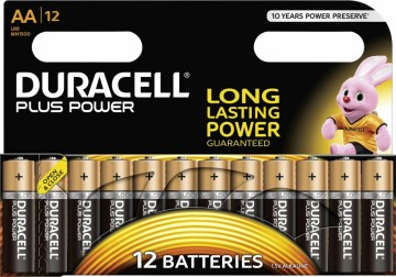 Duracell plus power 12pk