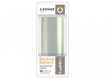 2-Power FuelPro Powerbank - 10.000mAh