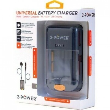 2-Power universal batterilader